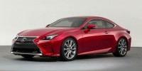 Lexus RC Have Been Released Following This Week's Unveiling of The Compact Sports Coupe