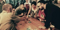 John Adams Readies for Rummikub Board Game Club Takeover