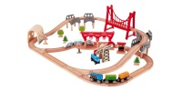 Hape Boosts Toy Offering with New Railway and George Luck Puzzles