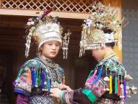 The Dong Ethnic Minority Lives Primarily in The Border Regions Between Guizhou