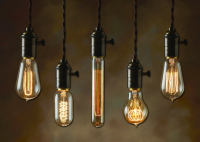 Bulbrite's Nostalgic Light Bulb Collection Encompasses an Easy to Recognize Antique Finish