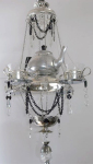 Tea Inspired Chandelier Embraces The Common Components Used When Serving Afternoon Tea