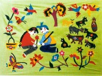 The Patchwork Is a Traditional Folk Art in West China