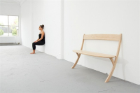 Bench with Two Legs