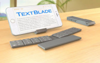 Waytools Manufacturing Textblade Keyboard Has a Breakthrough