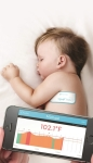 Thermometer - Temptraq: Thin & Soft, Can Stick on The Body