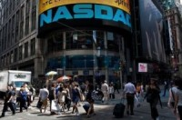 The Nasdaq Computer Index Friday Hit Its Highest Point Since November 2000