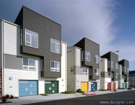 David Baker+Partners Designed Affordable Urban Townhomes to Help Keep Growing Families