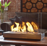 Clean Burning Tabletop Fireplaces Have Been Found Decorating Indoor and Outdoor Spaces