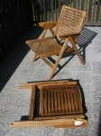 Folding Chairs Made of Wood Are Mainly Known for Their Inherent Color Shades