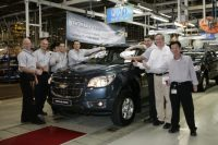 GM Has Begun The Production of Chevrolet Trailblazer SUV in Thailand