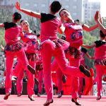 Dancers Celebrate Holidays with Their Feet