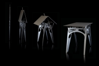 Effortless Space-Saving Design: Cricket Table From Folditure