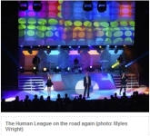 Robin DLF LED Wash Lights to Go on Tour Were Just Ideal for Rob Sinclair's Lighting