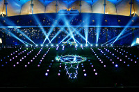 Clay Paky Lights up Saudi Arabian Stadium with LEDs
