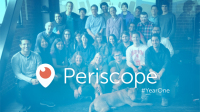 Twitter's Periscope Celebrates 200m Live Streams in Year One