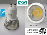 LED Canada's 5-Watt COB LED Bulbs and Halogen Replacements Are Cheap