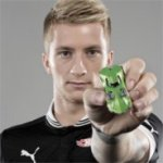 Marco Reus Visited The Nuremberg Toy Fair Today to Show off His Custom Hot Wheels Car