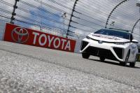 Toyota Mirai Is Launched at 2015 NASCAR