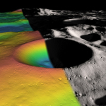 Orbiter's Laser Suggests 22% of Matter on Floor of Shackleton Crater Could Be Frozen Water