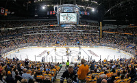 Predators Stadium Crisper and Cleaner After LED Lighting Upgrade