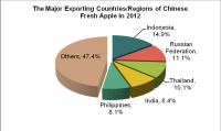 The Exporting Analysis of Chinese Fruit and Vegetable in 2012