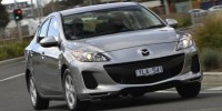 The Mazda3 Has Made a Strong Start as Australia's Top-Selling Car in 2013