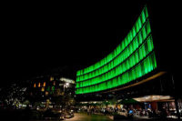 Luminous at Darling Quarter Has Been Turned on in Sydney