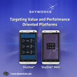 Skyworks Solutions's Skyone Mini Front-End Solution Is Launching New Smartphones