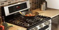 Kitchener Range Is a Kitchen Appliance Designed for The Purpose of Cooking Food