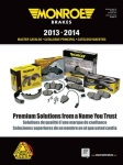 Tenneco Has Released Its 2013-2014 Monroe Brakes Catalog for Late-Model Applications