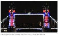 Tower Bridge Will Shine During The London 2012 Games