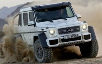 Mercedes-Benz Has Confirmed The Production of Its Six Wheeled G63 AMG SUV