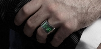 The Smarting LED Ring Can Display The Time, Accept or Reject Calls and Control Music