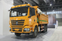 Shacman Brought Main Force Trucks to Show on Auto Guangzhou