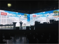 Smart Series P6mm LED Display Shinning in Rewe, Germany