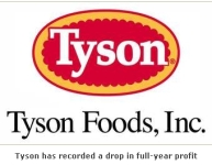 Tyson Foods Has Booked a Drop in Full-Year Profits