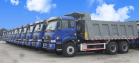 XCMG Automobile Signed a New Order of 30 Units of Ncl3258 Dump Trucks