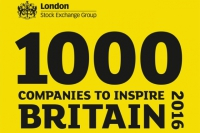 Kite Packaging Named One of '1000 Companies To Inspire Britain In 2016'