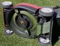 The Cylinder Mower Carries a Fixed, Horizontal Cutting Blade at The Desired Height of Cut