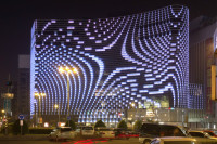 A Growing Trend Is Seeing Lights and Screens Installed in Facades