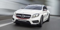 Mercedes-Benz GLA45 Amg Concept Has Been Unveiled at The Los Angeles Auto Show