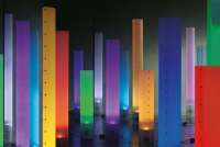 Joerg Schieber's Chameledeon LED Lamp :Tall Slender Body&Powerful Glowing LED Light Source