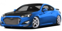 746kw Concept Version of The Hyundai Genesis Coupe Has Been Revealed Ahead of Its Debut