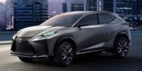 Lexus LF-NX SUV Concept : European Turbocharged Four-Cylinder Petrol Engines