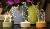 iLLuminite Is a Collection of Decorative Night Lights by SturlesiDesign