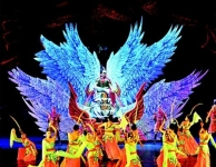 """LCF LED Display Witnessed Large Epic Drama """"The Throne and The Beauty"""""""