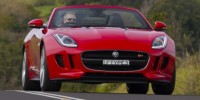 The Jaguar F-Type Shows The Details of Interior and Exterior