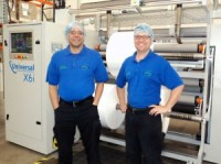 Lean Flexibles Installs a X6 Slitting Machine From Universal Converting Equipment