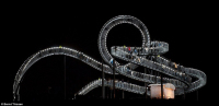"""Tiger and Turtle-Magic Mountain"" Sculpture Allows You to Savor The Ride at Your Own Pace"